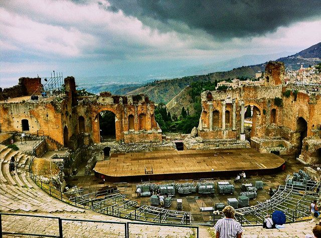 Teatro di Taormina. Foto diGioBertPhoto