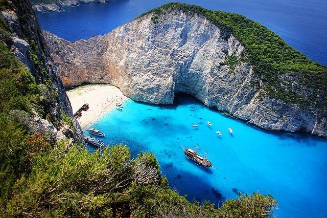 Navagio, Zante – Foto Pixabay