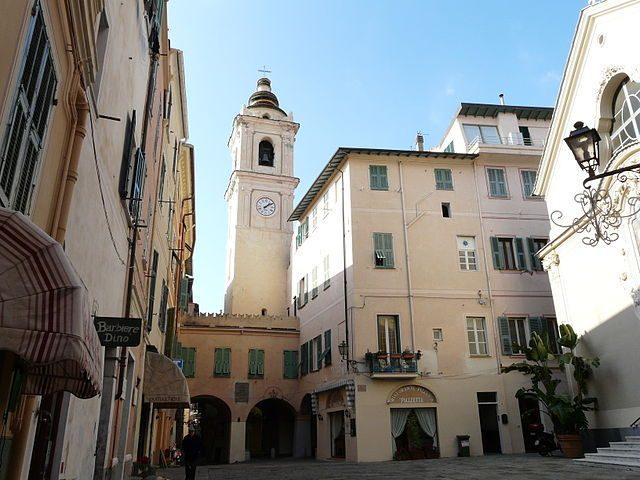 Centro storico di Bordighera – Foto Wikimedia Commons