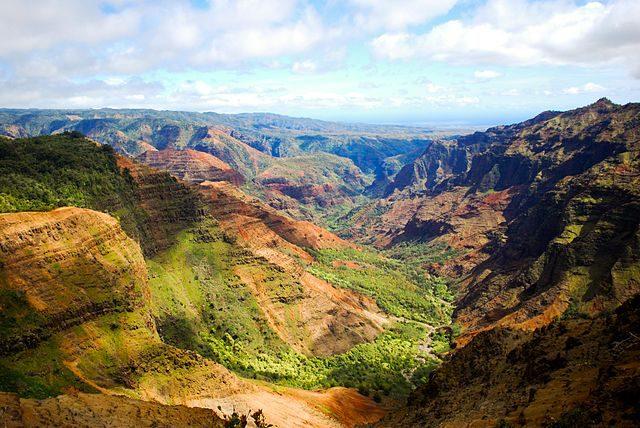 Waimea Canyon - Foto Wikimedia Commons