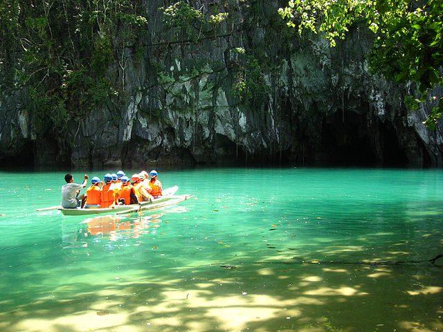 Fiume sotterraneo di Puerto Princesa – Foto Wikimedia Commons