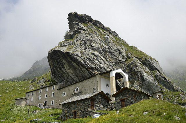 Santuario di San Besso. Foto di Massimiliano