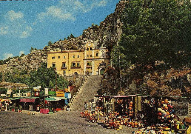 Santuario di Santa Rosalia. Foto di Walter Giannò
