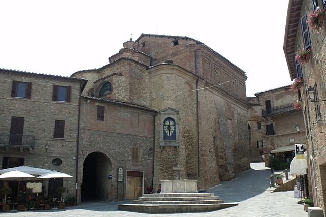 Panicale, Chiesa di San Michele Arcangelo in Piazza Umberto I – Foto Wikimedia Commons