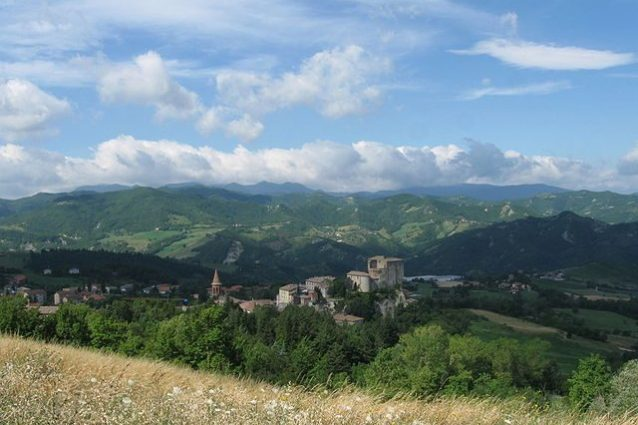 Sant'Agata Feltria, veduta panoramica – Foto Wikipedia