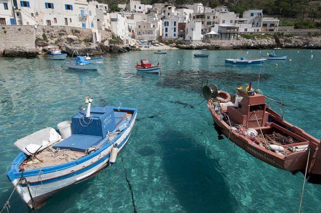 Isole Egadi. Foto di Roberto