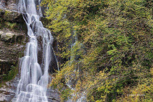 Cascata dell'Acquacheta. Foto di Giuseppe Moscato