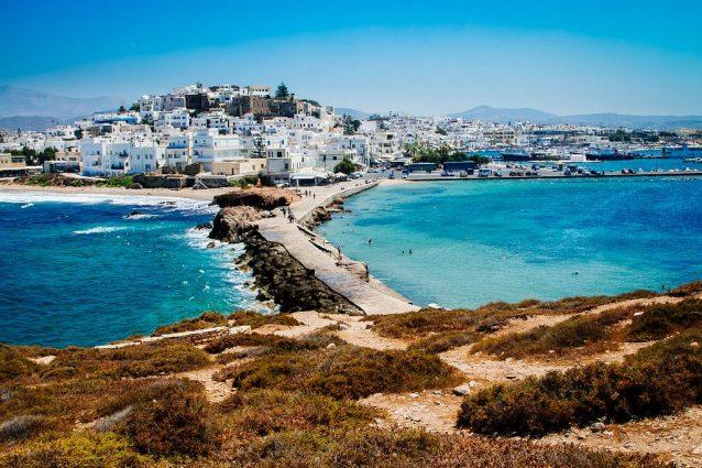 Naxos. Foto di trevorklatko