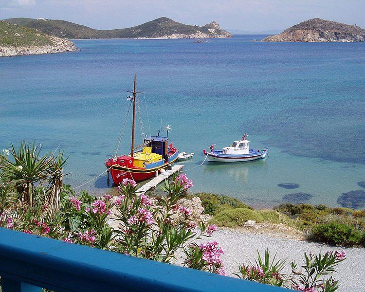Patmos. Foto da Wikipedia