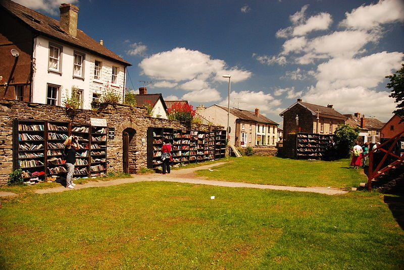 Hay on Wye bookshop. Foto da Wikipedia