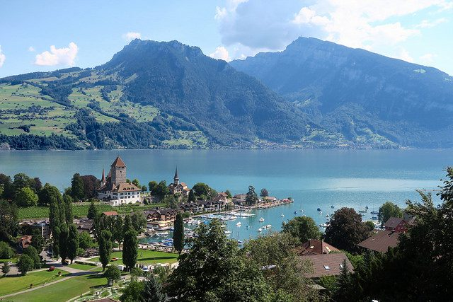Spiez, Lago di Thun – Foto di Kecko