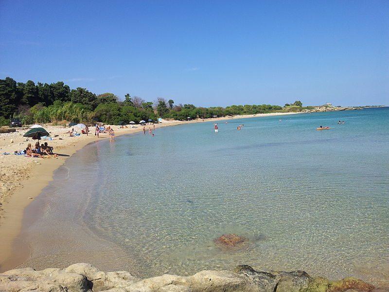 Spiaggia di Fontane Bianche, Siracusa. Foto da Wikipedia