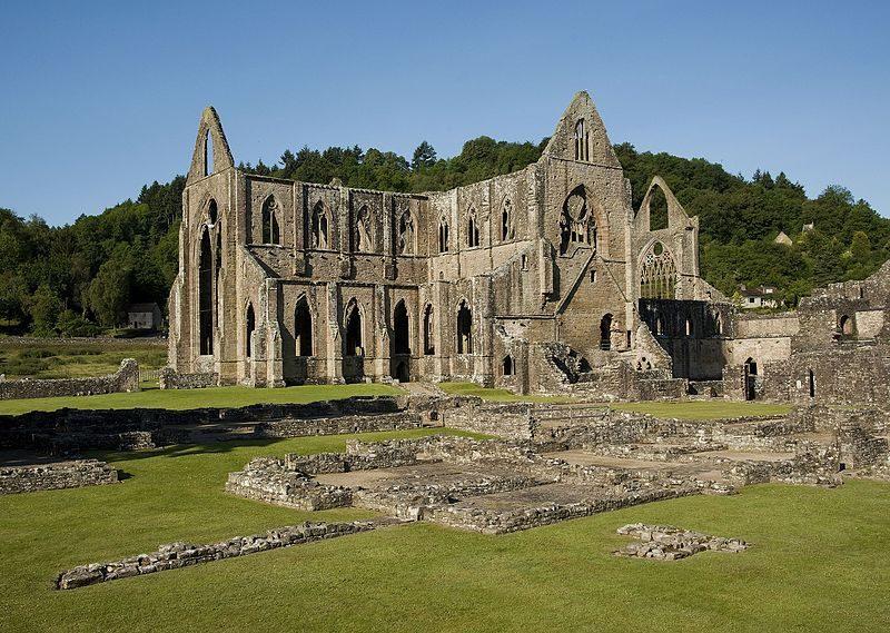 Tintern Abbey. Foto da Wikipedia