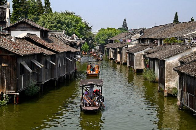Wuzhen, Cina – Foto di tengri555