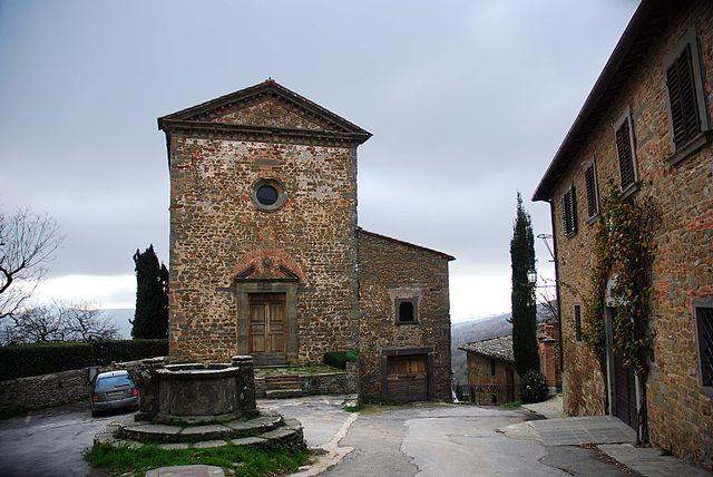 Volpaia, Commenda di Sant'Eufrosino (Foto Wikipedia)