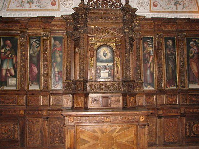 Spoleto, interno del Duomo – Foto Wikimedia Commons