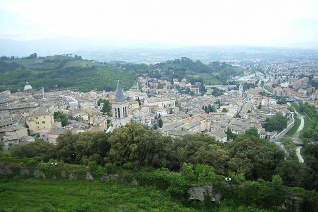 Veduta di Spoleto – Foto Wikimedia Commons