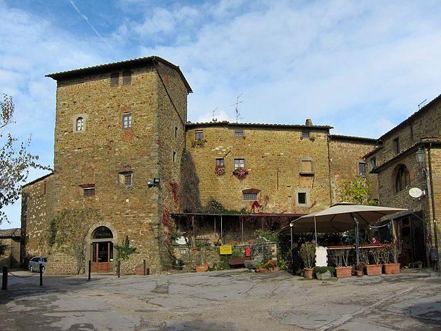 Castello di Volpaia (Foto Wikimedia Commons)