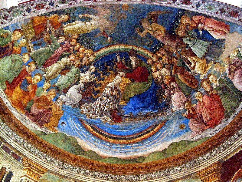 Filippo Lippi, Incoronazione della Vergine – Foto Wikimedia Commons