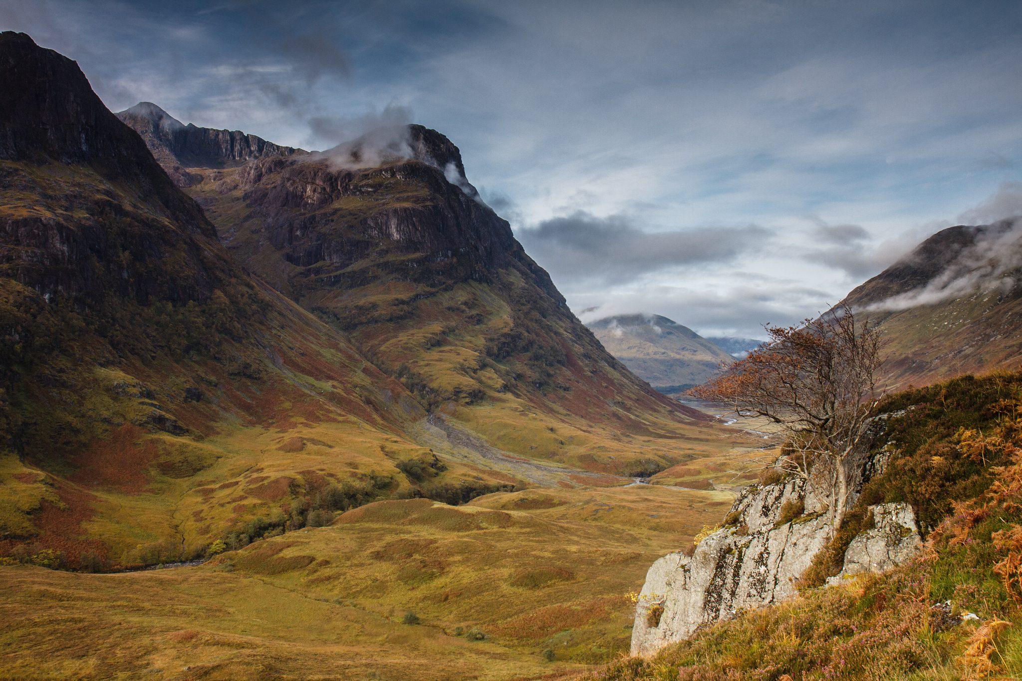 La valle di glencoe uno dei luoghi pi affascinanti della - Foto di uno shamrock ...