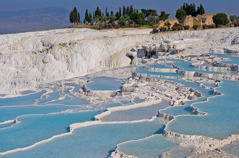 Pamukkale. Foto da Wikipedia