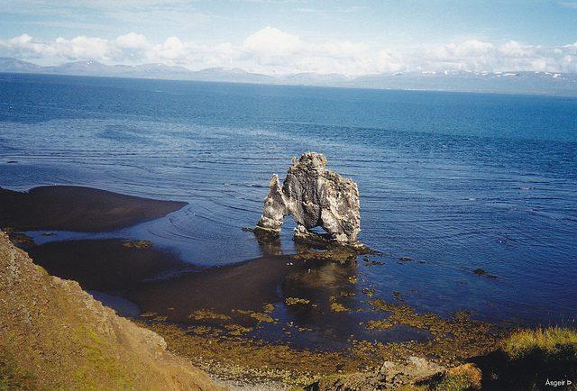 Hvítserkur, Islanda – Foto Flickr