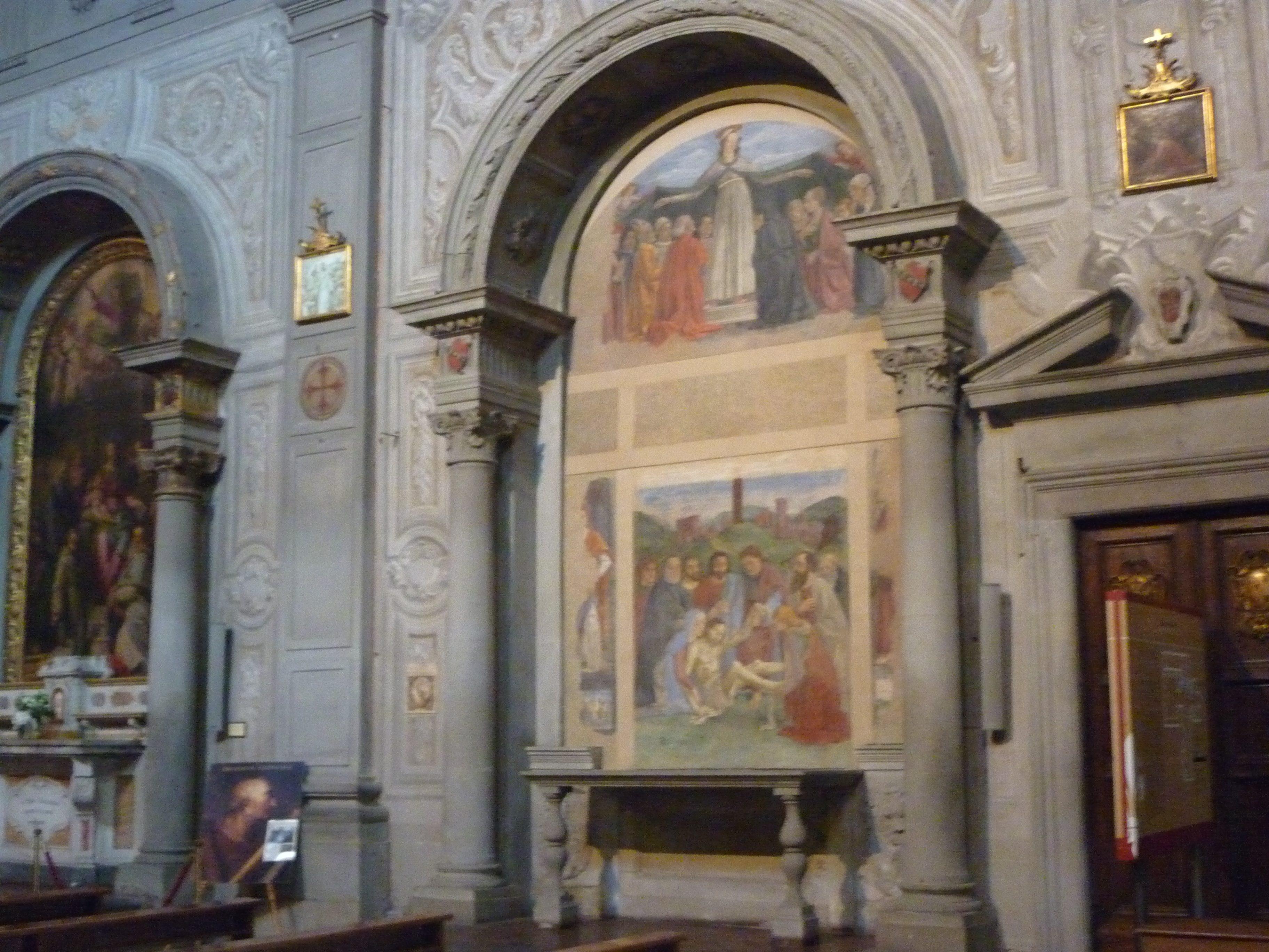 Domenico Ghirlandaio, Cappella Vespucci