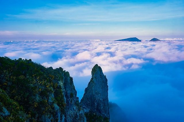 Le vette dell'isola della Réunion – Foto Pixabay
