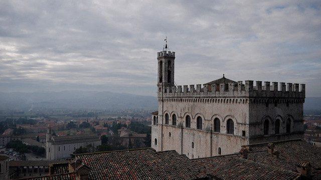 Gubbio. Foto di Tomas de Marchi