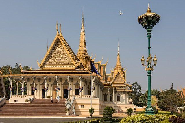 Phnom Penh, Palazzo Reale – Foto Max Pixel