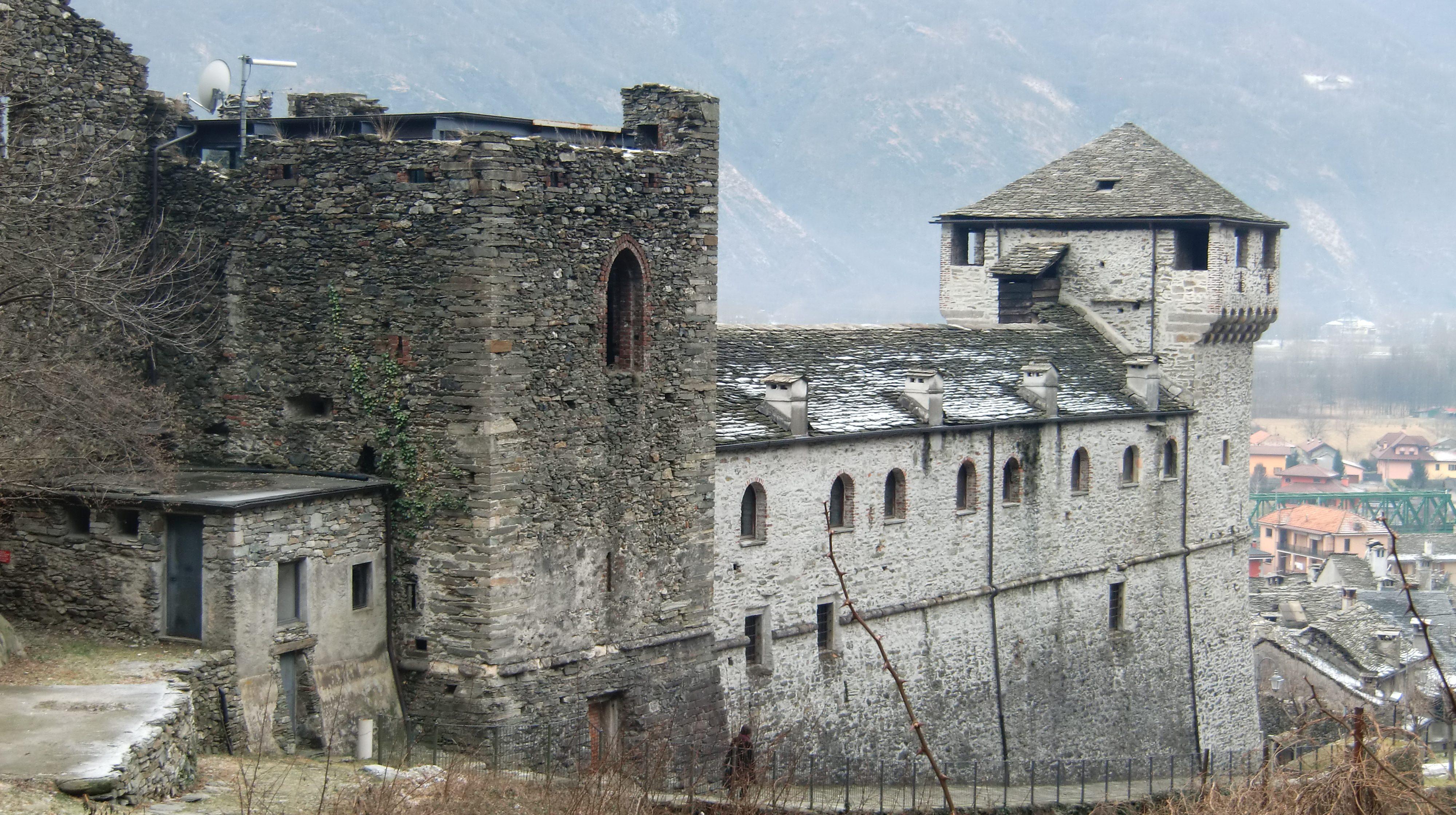 Castello di Vogogna. Foto di Laurom