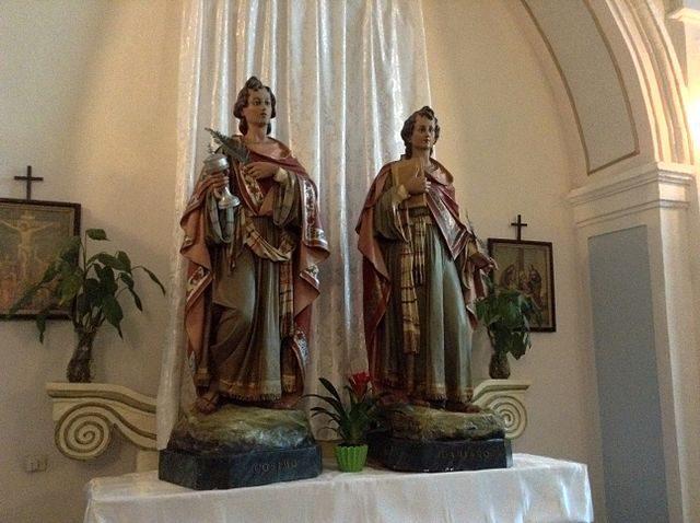 Interno della Chiesa dell'Addolorata – Foto Wikimedia Commons