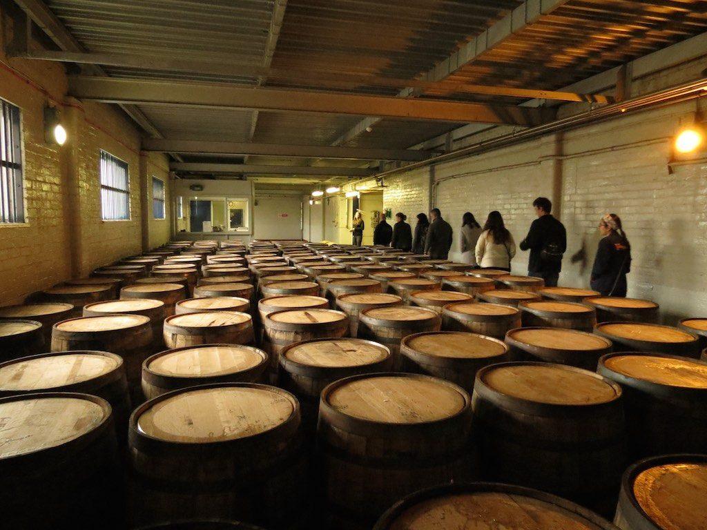 visita a distilleria scozzese