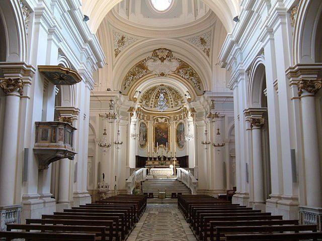 Interno del Duomo di Civita Castellana – Foto Wikipedia