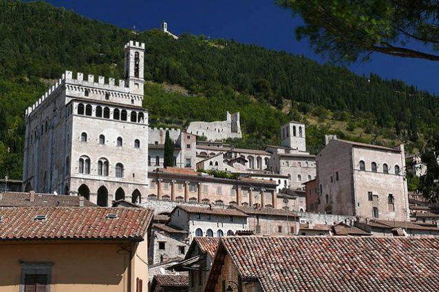 Veduta di Gubbio – Foto Wikimedia Commons