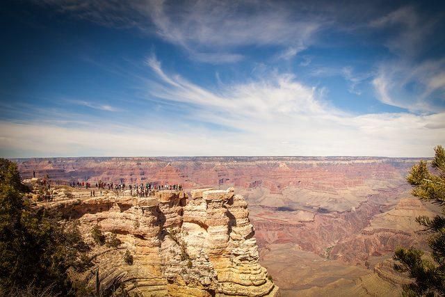 Le 5 escursioni pi belle del mondo for Grand canyon north rim mappa della cabina