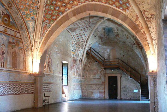 Rocca di Angera, Sala di Giustizia – Foto Wikimedia Commons