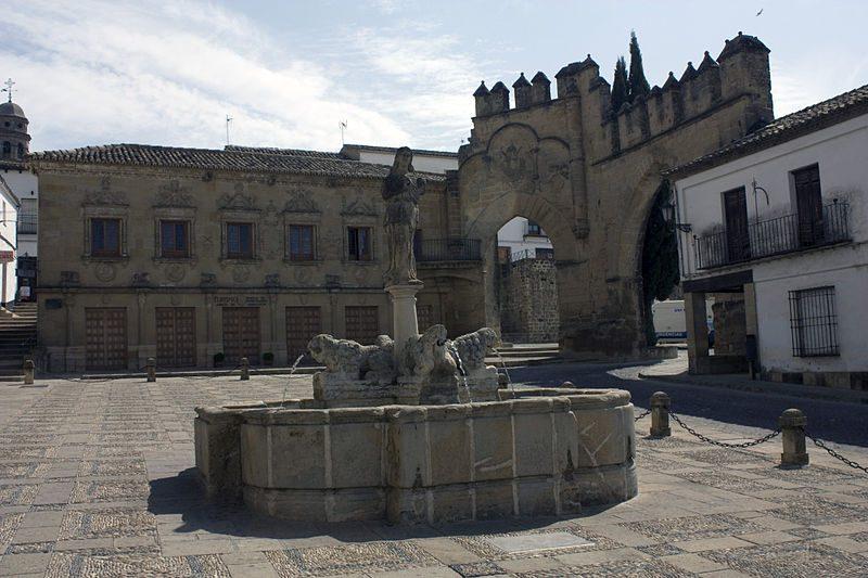 Fontana del leoni, Baeza