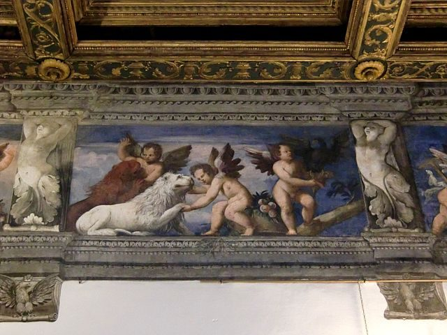 Affreschi di Battista Dossi nel Castello del Buonconsiglio – Foto Wikipedia