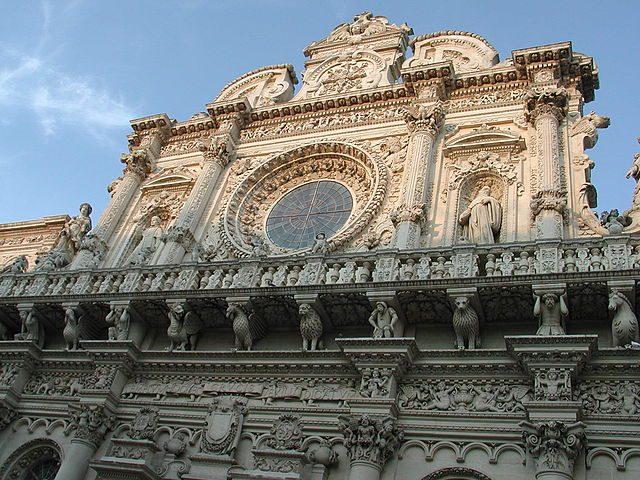 La facciata barocca di Santa Croce – Foto Wikipedia