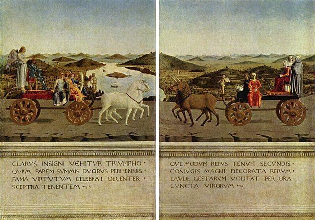 I Trionfi, Piero della Francesca – Foto Wikipedia