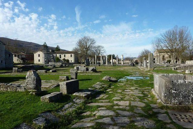 L'antica Altilia Saepinium – Foto Wikipedia
