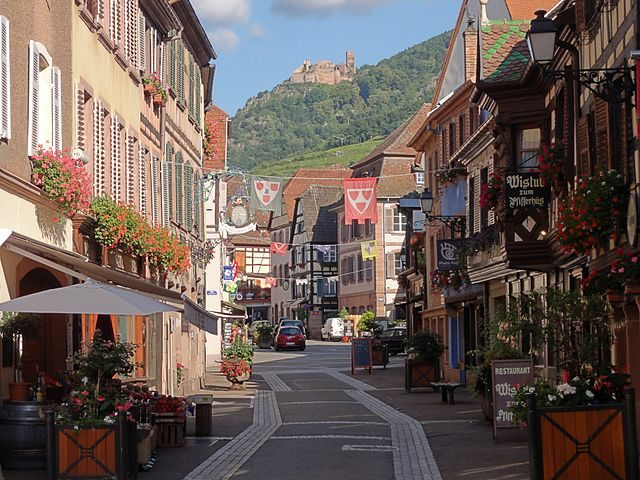 Ribeauvillé, Grand–Rue – Foto Wikimedia Commons