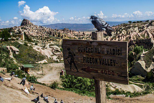 Valle dei Piccioni – Foto Wikimedia Commons