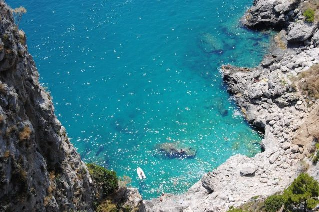 Il mare di Capri