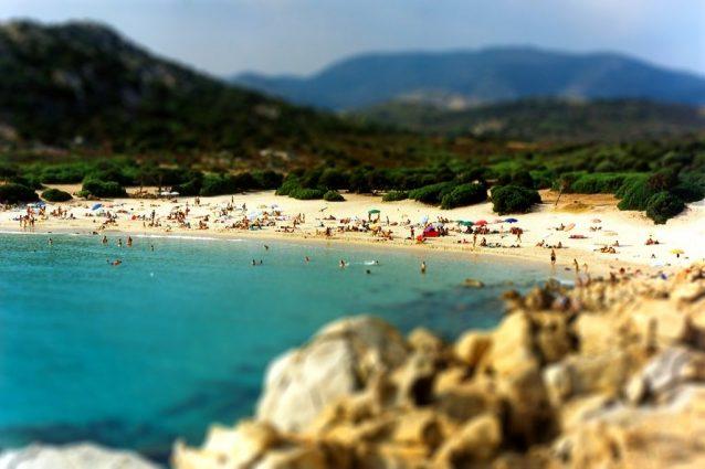 Baia di Chia, Sardegna