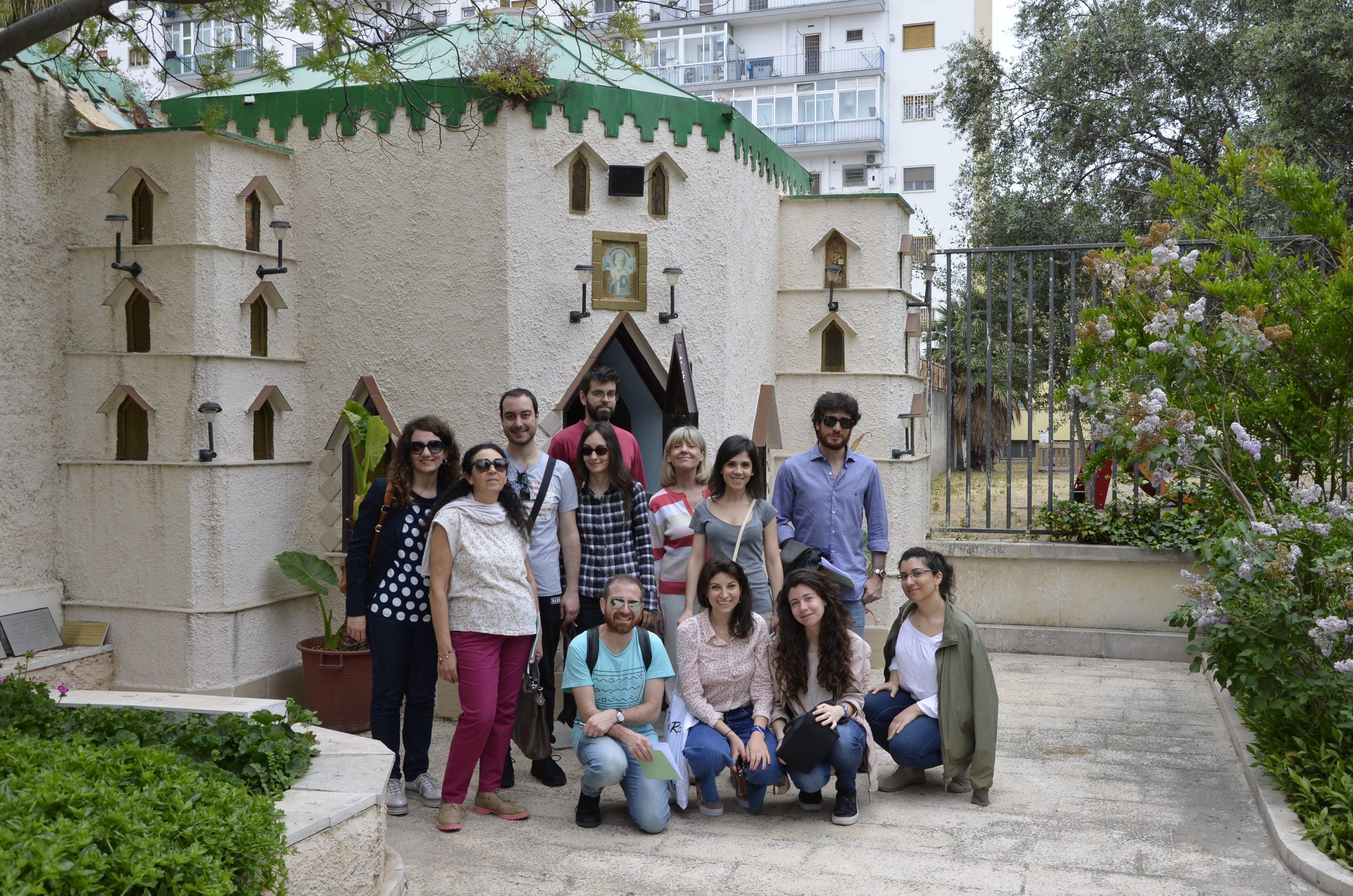 Trekking urbano a Carrassi con l'associazione Fillide