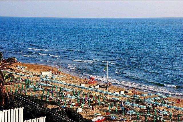 Spiaggia di Anzio – Foto Wikimedia Commons