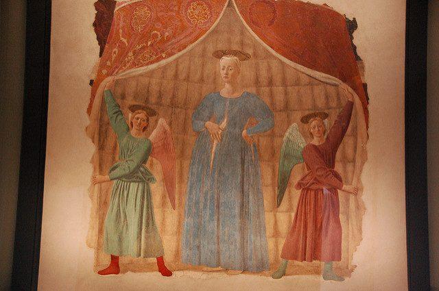 Piero della Francesca, Madonna del Parto – Foto di bob