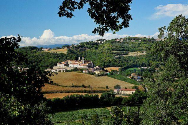 Veduta di Monterchi – Foto di Franco Vannini